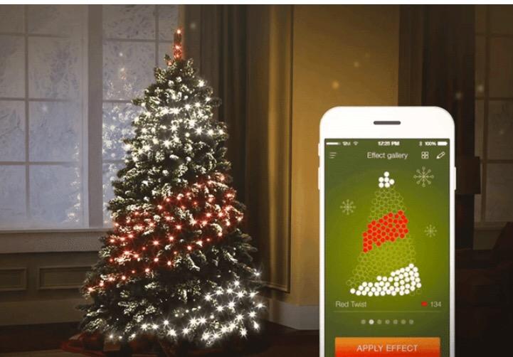 Twinkly, prosegue con successo su Kickstarter il crowdfunding per illuminare l' albero di Natale 4.0