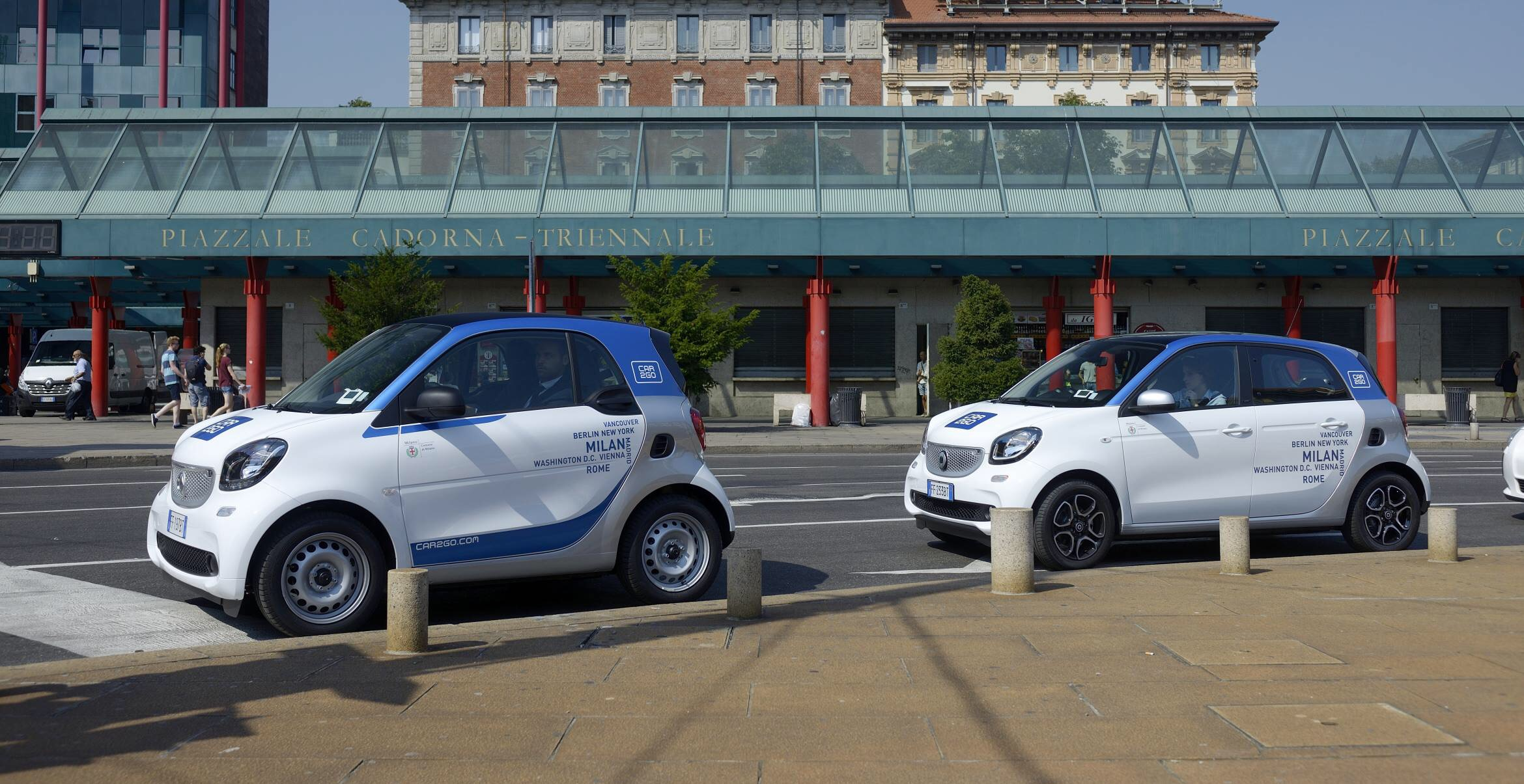 Blackout globale, Car2Go in tilt: impossibile teminare i noleggi
